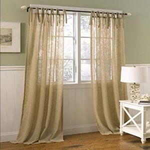 Other - Oatmeal Colored Curtains